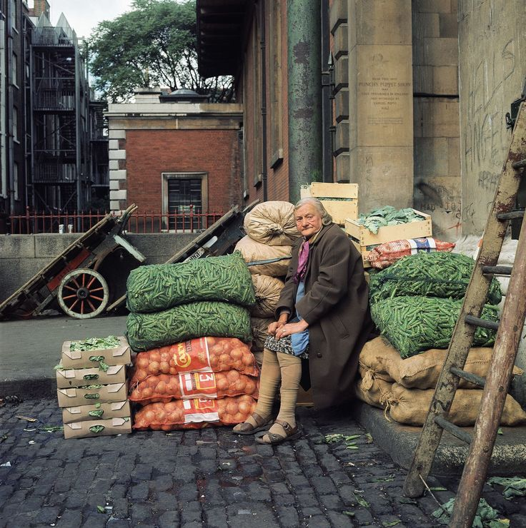 An Eclectic Look at Old Covent Garden Market in the 1960s