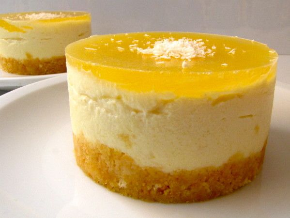 CHEESECAKE ANANAS (sans cuisson)