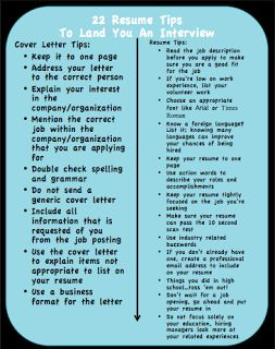 22 great resume writing tips