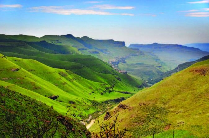Sani Pass and Lesotho Day Tour from Durban  Join this day trip from Durban, drive through the Natal Midlands, and up to Sani Pass in a 4x4 vehicle. The tour will then enter Lesotho and visit a Sotho village, you will also visit the highest pub in Africa!If you love adventure, a drive up the highest road pass in Africa in a 4x4 vehicle will certainly get your adrenaline running! Once at the top, you'll be rewarded with magnificent views and breathtaking scenery. After you...