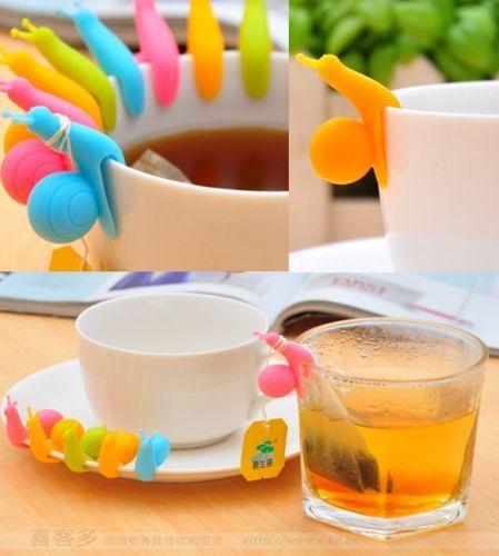 5pcs-set-Snail-Shape-Silicone-Tea-Bag-Holder-Cup-Mug-Candy-Colors-Gift-hs8