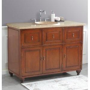 usa ls 1025t limburg 48 inch single sink bathroom vanity with 18 inch