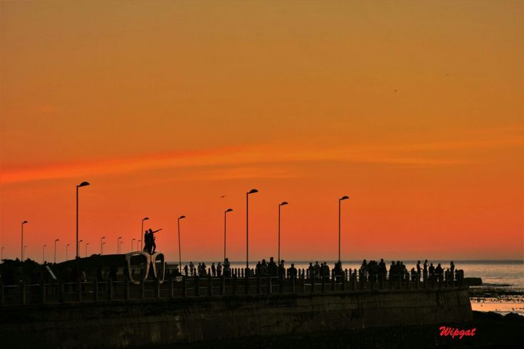 sunset @seapoint capetown