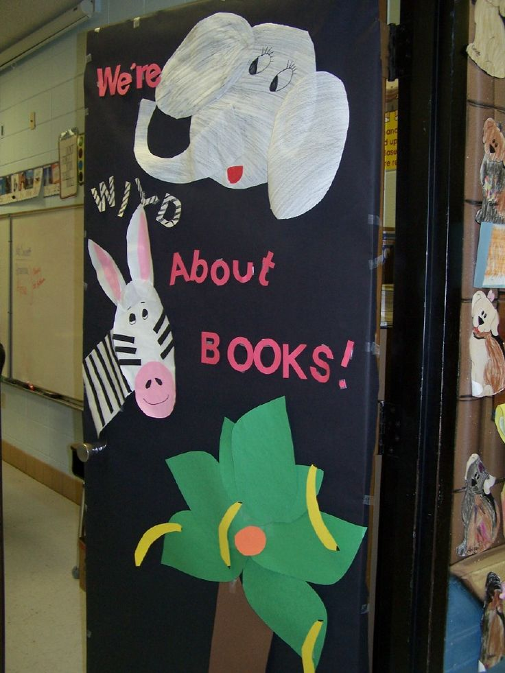 Classroom Decor Animals ~ Classroom door decorations for spring google search