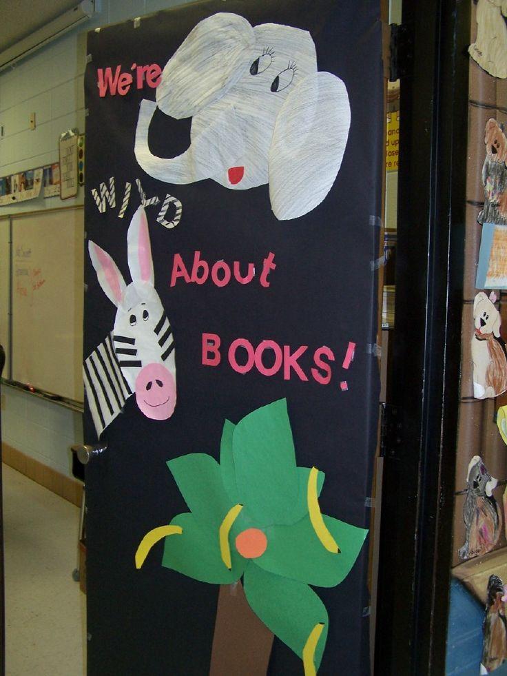 Classroom Decor Animals ~ Classroom door decorations for spring google search