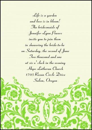 Interesting Wedding Invitation Wording