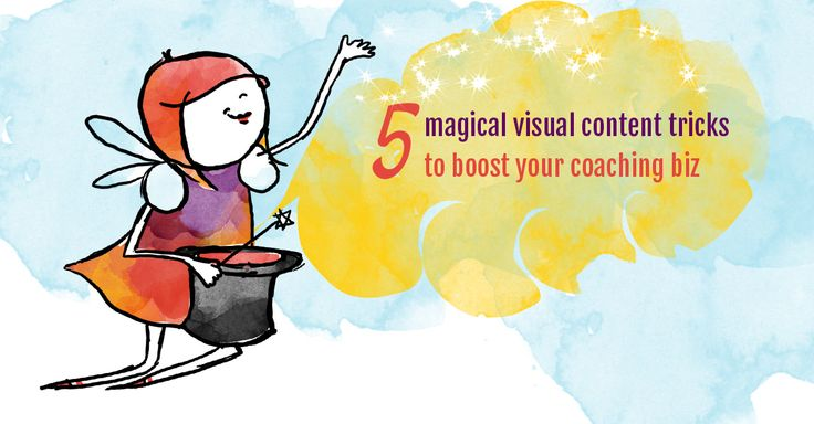 It's a noisy world out there. Here are 5 powerful visual content tricks to boost your coaching biz  http://businessbeautician.com/visual-content/