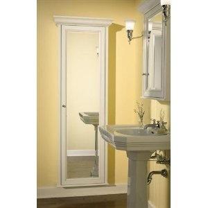 full length recessed medicine cabinet bathroom built ins pinterest medicine. Black Bedroom Furniture Sets. Home Design Ideas