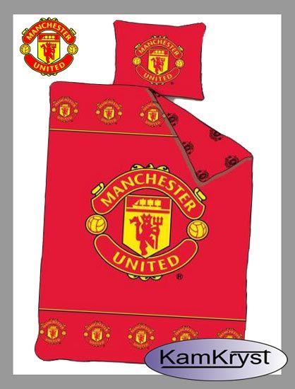 Bedding Manchester United Red 160x200   Pościel Manchester United Red 160x200