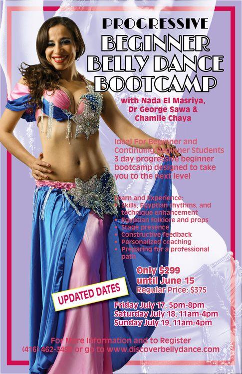 Progressive Beginner Belly Dance Bootcamp