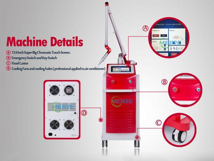 Q-Switched Nd: Yag Laser Máquina (MJQ10)