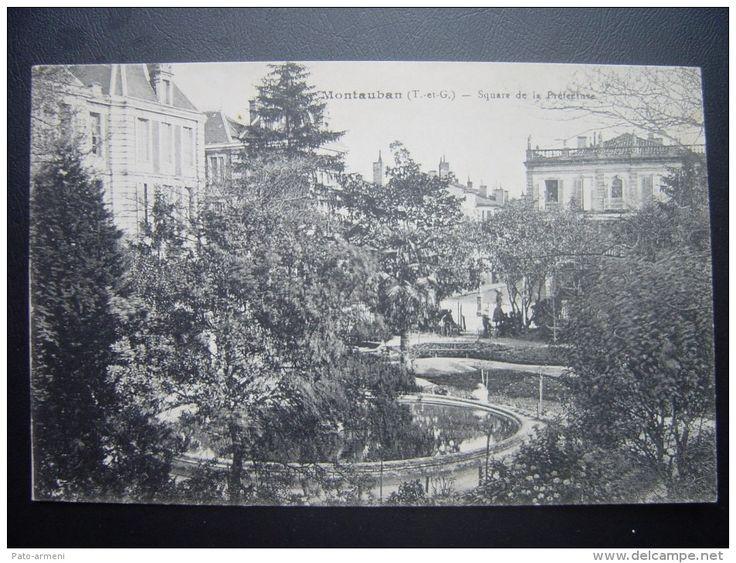 Montauban (T.-et-G.) – Square de la Préfecture