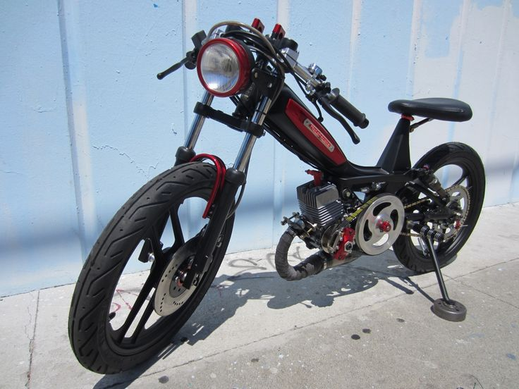 Garage - Build: Rockstar Moby by Tomahawk Mopeds