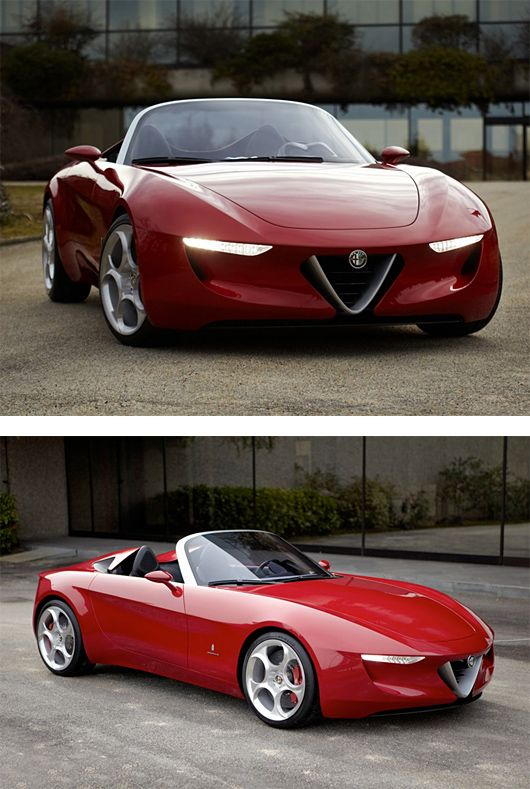 A girl can appreciate good design where ever she may find it. I want. Alfa Romeo 2uettottanta by Pininfarina | Inspiration Grid | Design Inspiration