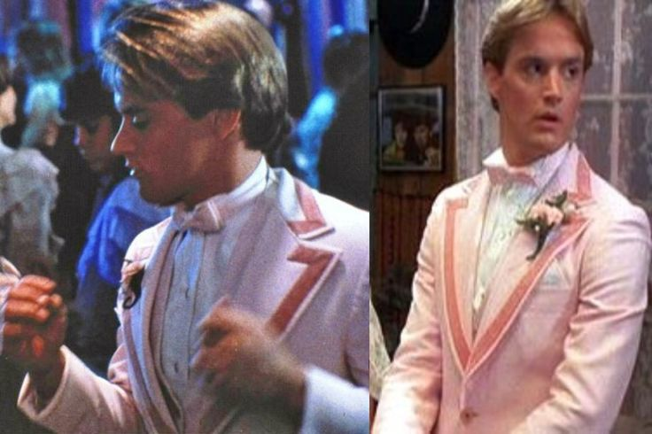 """Every time I see Michael Bowen on screen, I always remember him as """"Tommy"""" from Valley Girl in this tux."""
