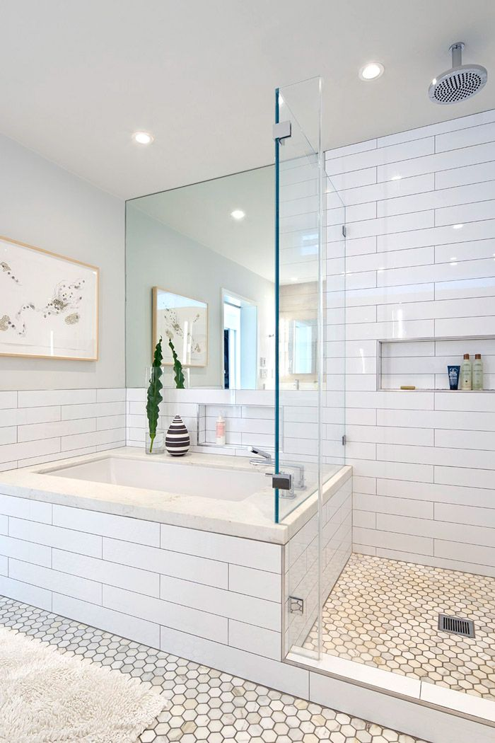 Best 25+ White subway tile bathroom ideas on Pinterest | White ...