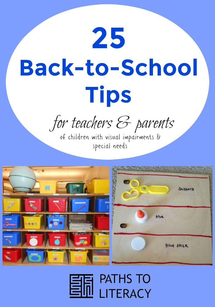 Classroom Design Tips For Visually Impaired ~ Best images about back to school for children with