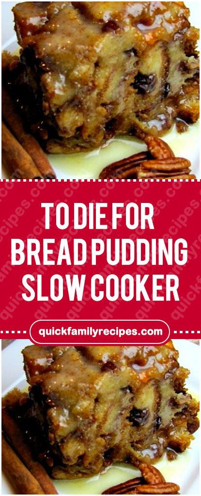 Apr 2, 2020 – Oh my! This bread pudding slow cooker recipe is the absolute best bread pudding I have ever tasted on this…