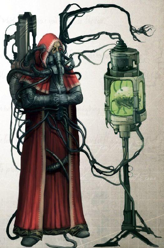 Tech-priest -, warhammer 40k