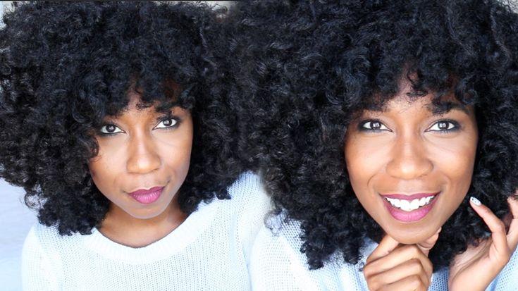 Jet Black Hair Dye UPDATE | 2 Months Later... Natural Hair