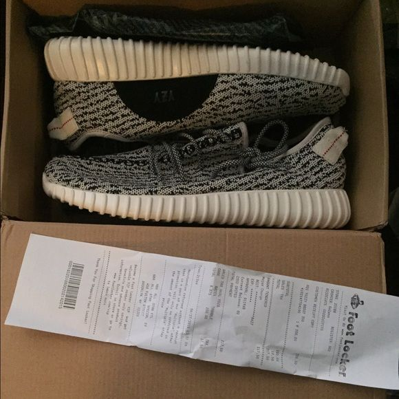 Yeezy Boost 350 brand new with box! Color wave is turtle dove, brand new with receipt and box. Offers are considered Adidas Shoes