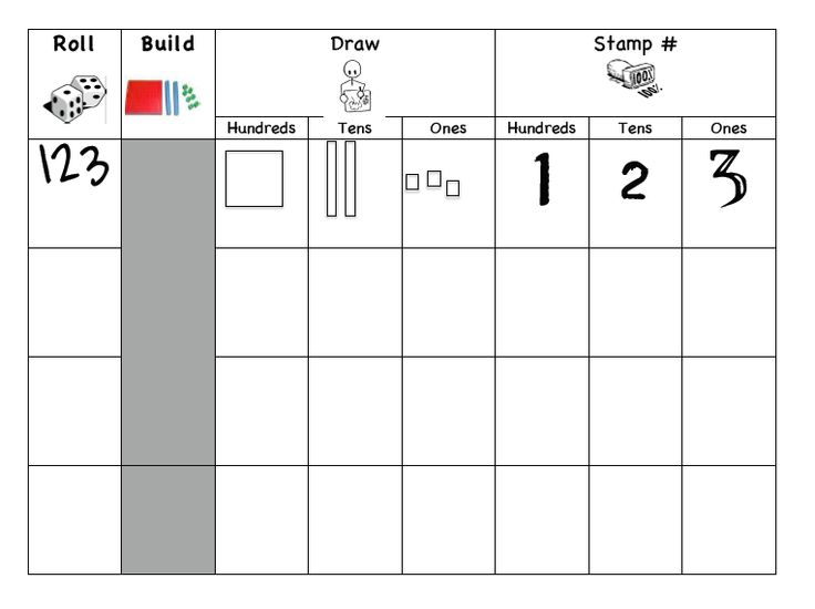 Best Place Value Images On   Classroom Ideas Math