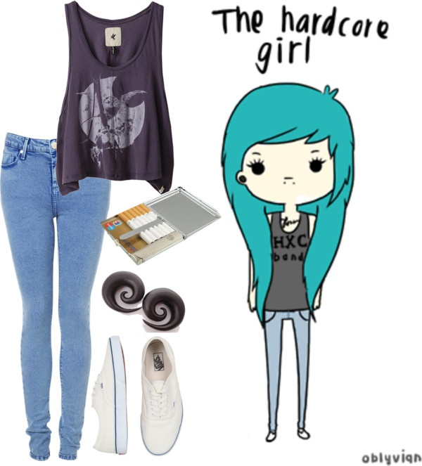 """""""The Hardcore Girl"""" by cherlloydstylebr ❤ liked on Polyvore"""