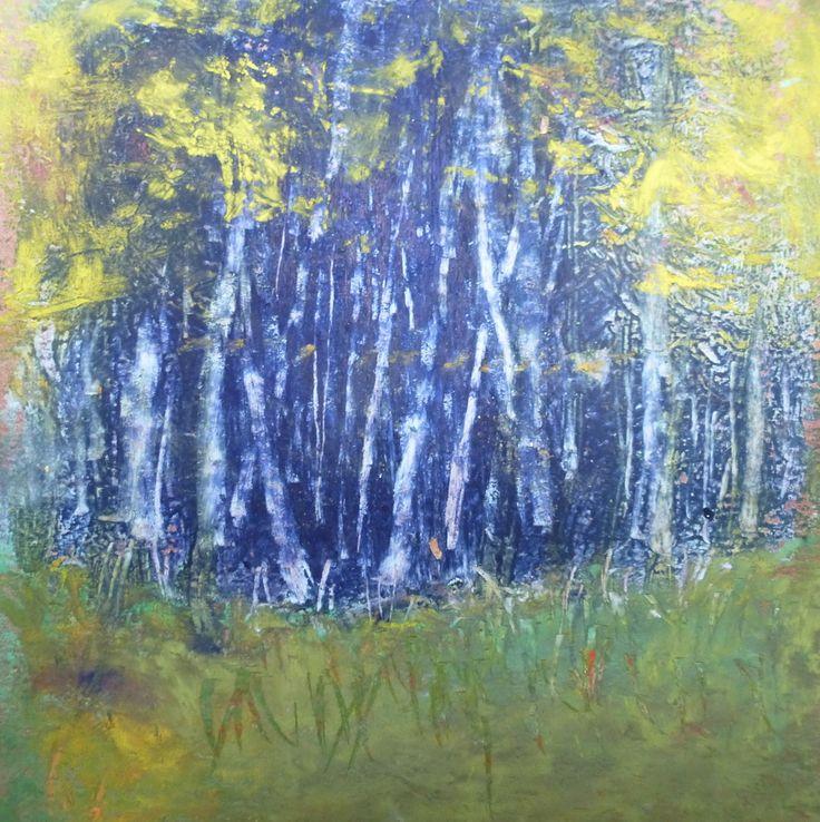 Wietze Aardema - donker bos II
