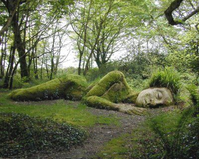 The Lost Gardens of Heligan, Mevagissey, U.K. one of the most famous botanical gardens in the world