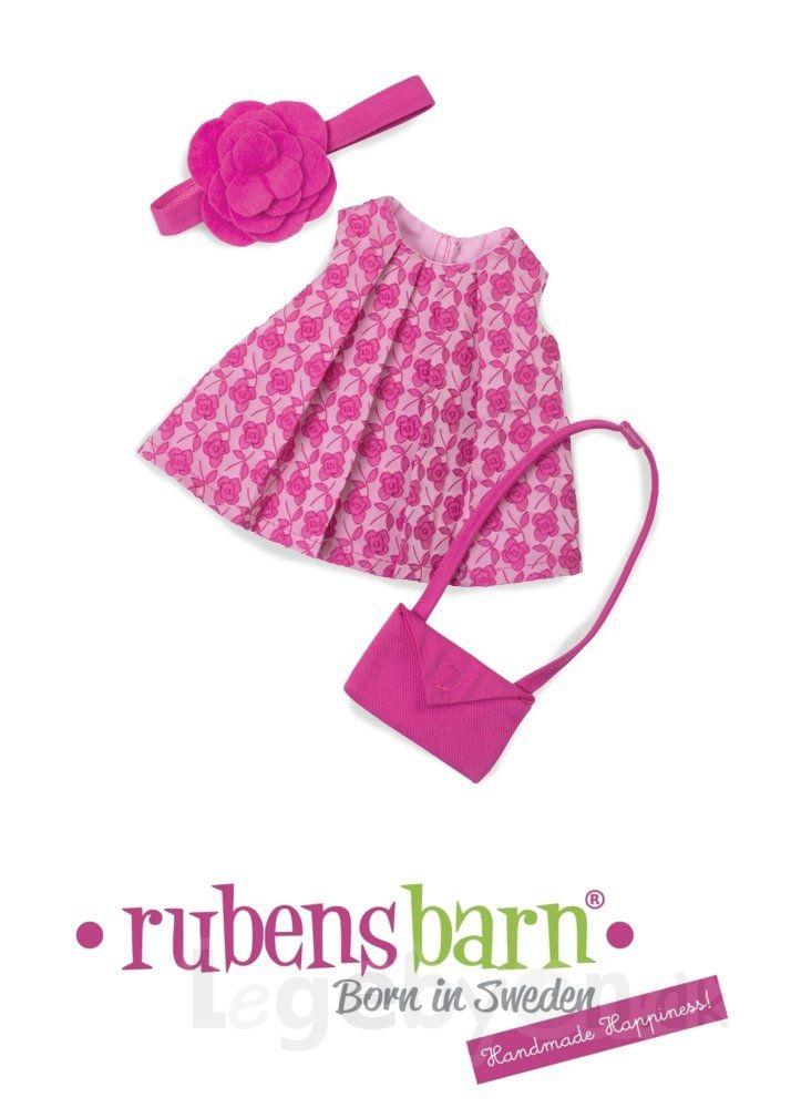 Rubens Cutie tøj - Rose Garden - 3 dele.