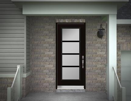 15 best Porte d\u0027entrée images on Pinterest Entrance doors, Front - pose d une porte d entree