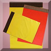 Colored Tear-Proof Polyolefin Envelopes