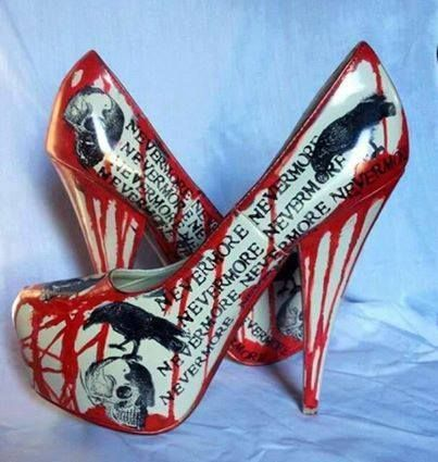 Bleeding Nevermore heels
