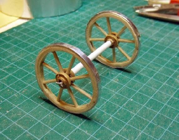 how to: miniature wheels