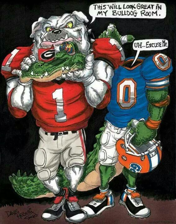 bulldog vs gator 64 best proud to be a gator hater images on pinterest 5408
