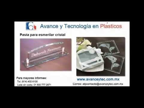 Pasta para esmerilar Cristal y vidrio. - YouTube