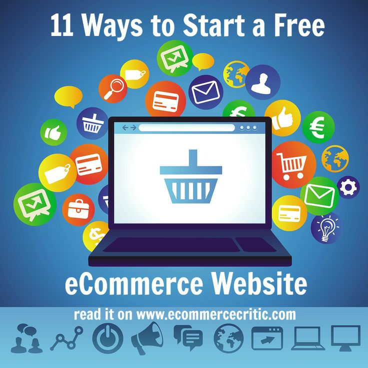 Looking to start selling online? Here are 11 ways to start your first online store for free.  #ecommerce #sellingonline #onlinestore