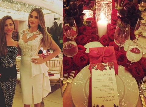 Sofia Vergara & John Manganiello Düğünü – Elsa&Bambi Gelin Aksesuarları