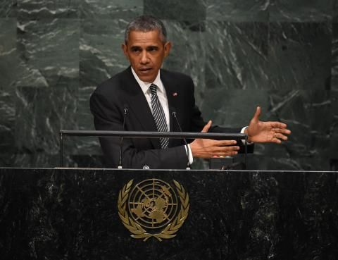 NBC News: WATCH LIVE: President Obama addresses United Nations General Assembly - 9:53 am edt - 28 Sep 2015