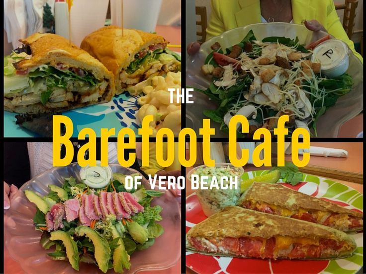 I found a great lunch spot at The Barefoot Cafe in downtown Vero Beach. Their quality sandwiches are delicious and affordable. Side dishes are homemade.