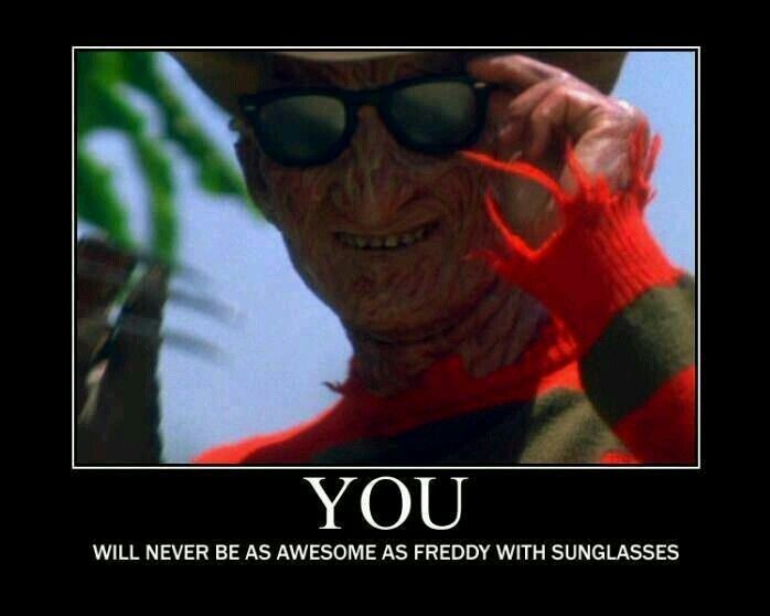 Nightmare On Elm St Quotes: 19 Best I Love You ... Freddy Krueger Images On Pinterest