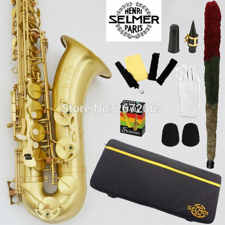 ==> [Free Shipping] Buy Best Wholesale French B Selmer Drop B Tenor Saxophone Henry Reference 54 Surface Antique Brass Bronze Copper Tenor Saxophone Sax Online with LOWEST Price | 32755971139