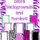 11 different zebra borders and backgrounds. 4 Backgrounds7 bordersAll of the borders and backgrounds are jpg. ...
