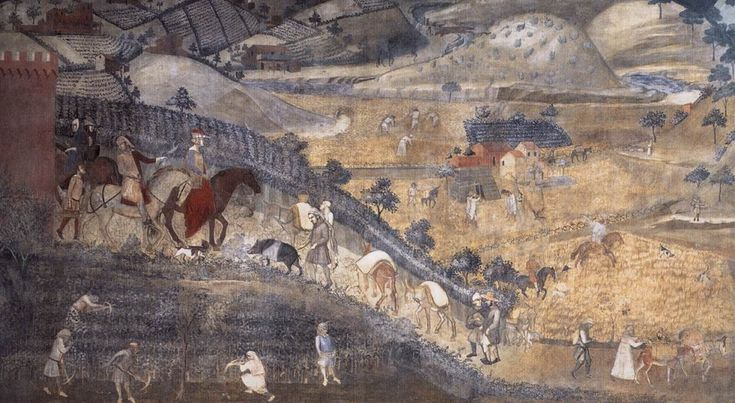 Ambrogio Lorenzetti | Effect of Good Government on City and Country by Ambrogio Lorenzetti.
