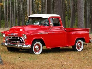 '57 Chevy 1300 Truck.   I love Classic Cars <3