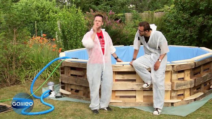 wer tr umt nicht vom hauseigenen schwimmbad im garten f r. Black Bedroom Furniture Sets. Home Design Ideas