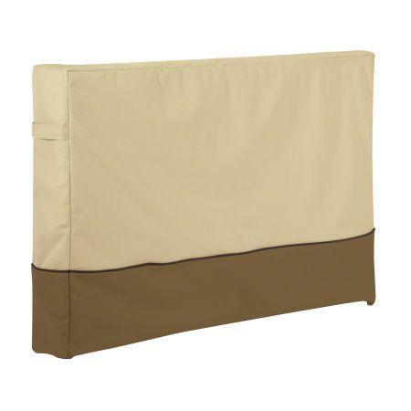 Classic Accessories Veranda™ Outdoor TV Cover - Durable and Water Resistant Outdoor Cover, 38 Inch TVs (55-790-161501-00), Beige