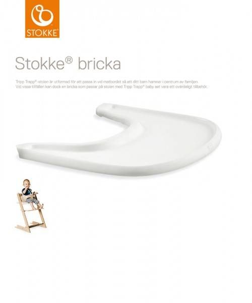 Stokke® Brett White - Barnas Hus