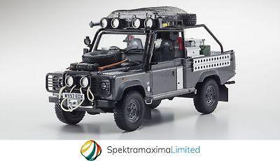 KYOSHO Land Rover Defender Movie Edition Tomb Raider Lara Croft Model Car 1:18