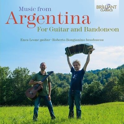 MUSIC-FROM-ARGENTINA-FOR-GUITAR-amp-BANDONEON-ENEA-LEONE-ROBERTO-BONGIANINO-2CD-NEW